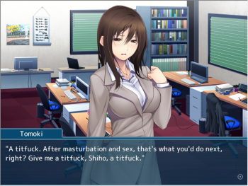 [Mangagamer] My Boss' Wife is My Ex ~ Reluctantly Drowning in Sex Deals After Hours~ [English]