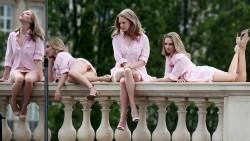 Amanda Seyfried, Carla Gugino, Chloe Moretz, Emilia Clarke, Maisie Williams, Rebecca Mir (Wallpapers) 7x