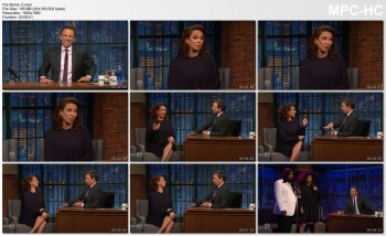 MAYA RUDOLPH *cleavage/bra flash* seth meyers - 15 JUNE 2016