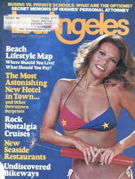 Raquel Welch: July 1976 Los Angeles Mag Cover: MQ x 1