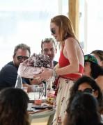 Lindsay Lohan - Celebrating her birthday in Mykonos, Greece 7/5/16