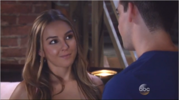 Lexi Ainsworth, love scene from General Hospital 7/7/16