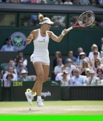 Angelique Kerber in the 2016 Wimbledon Semifinal x47