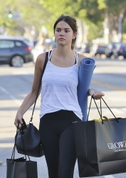 Maia Mitchell - Shopping in LA 7/11/16