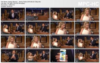 Ashley Benson - Jimmy Fallon 2016.06.23 720p
