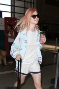 Elle Fanning - At LAX Airport 7/12/16