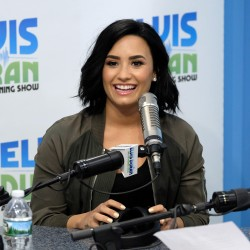 Demi Lovato - On the Elvis Duran Z100 Morning Show in NYC 7/13/16