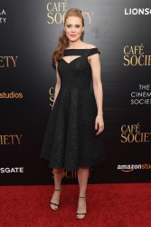 Amy Adams - 'Cafe Society' Premiere in NYC 7/13/16