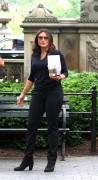 Mariska Hargitay -               ''Law And Order: SVU'' Set New York City July 13th 2016.