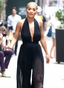 Rita Ora - Filming 'America's Next Top Model' in NYC 7/15/16