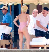 Lady GaGa | Swimsuit Candids in the Pedregal Ressort in Cabo San Lucas | July 16 | 58 pics