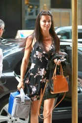 Adriana Lima - Out in NYC 7/19/16