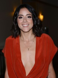 Chloe Bennet - Agents of S.H.I.E.L.D. Press Line at 2016 Comic-Con in San Diego 7/22/16