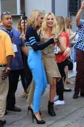 Margot Robbie & Cara Delevingne - Arriving at 2016 Comic-Con in San Diego 7/23/16