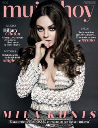 Mila Kunis -                              Mujer Hoy Magazine (Spain) July 23rd 2016.