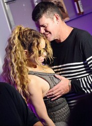 Mariah Carey - Being Frisky In An Italian Nightclub (7/24/16)