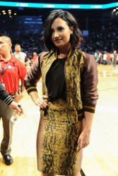 Demi Lovato - Roc Nation Summer Classic Basketball Game in Brooklyn 7/21/16