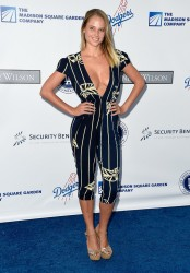 Genevieve Morton - the Los Angeles Dodgers Foundation Blue Diamond Gala 7/28/16