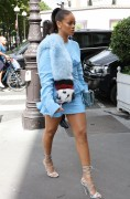 Rihanna - Shopping in Paris 7/29/16