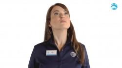 "Milana Vayntrub - AT&T Commercial ""Power Up"""