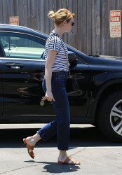 Emma Stone - Out in Beverly Hills 8/2/16