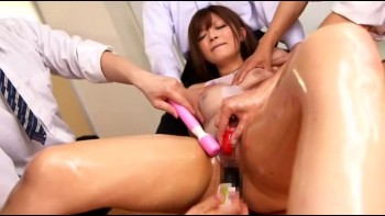 Japanese Office girl making mistake and then humiliated