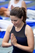 Sophia Bush - Lifeway yoga event during 2016 Lollapalooza in Chicago 7/30/16