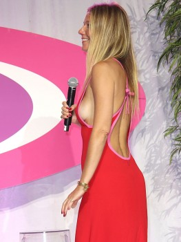 Gwyneth Paltrow - Side-boobage At The Hamptons Paddle & Party For Pink (8/6/16)