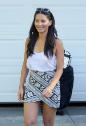 Olivia Munn - Out in Brentwood 8/14/16
