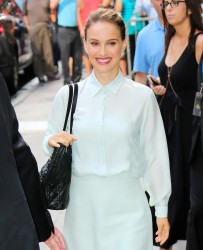 Natalie Portman - Arriving at Good Morning America in NYC 8/15/16