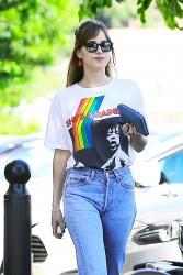 Dakota Johnson - Out in LA 8/15/16