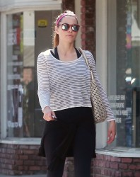 Jessica Biel - Out in Beverly Hills 8/22/16