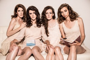 "Lauren Lapkus, Mary Holland, Stephanie Allynne, Erin Whitehead (The ""Wild Horses"" Improv Team) x1"