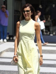 Camilla Belle - Shopping in LA 8/22/16