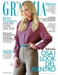 Kate Hudson -                      Grazia Magazine (Italy) August 30th 2016.