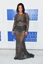 Ashley Graham - 2016 MTV VMAs in NYC 8/28/16