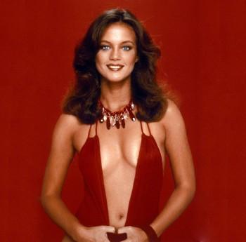 Maren Jensen: Mega Cleavage In Red Dress: HQ x 1