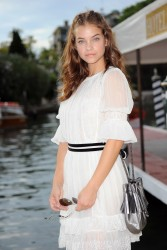 Barbara Palvin - Arriving for the Venice Film Festival in Italy 8/30/16
