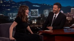 "Zooey Deschanel on ""Jimmy Kimmel Live"" on August 31, 2016 x17"