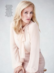 Gillian Anderson -          Harper's Bazaar Magazine (UK) October 2016.