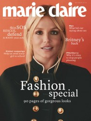 Britney Spears -                   Marie Claire Magazine (UK) October 2016.