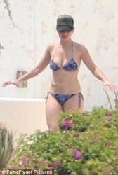 Minka Kelly Wearing a Bikini in Cabo San Lucas, Mexico - 9/2/16