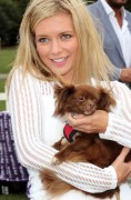 Rachel Riley -                   PupAid Puppy Farm Awareness Day London September 3rd 2016.
