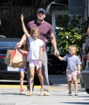 Ben Affleck With His Kids
