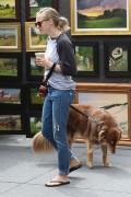 Amanda Seyfried - Walking her dog in New York 9/5/16