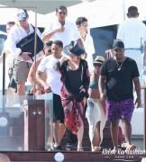 Khloe Kardashian - Wearing a swimsuit in Cabo 9/4/16
