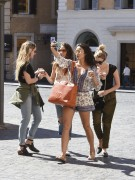 Ashley Benson, Shay Mitchell & Troian Bellisario - Out in Rome 9/6/16
