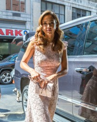 Jessica Alba - Arriving at Live with Kelly in NYC 9/8/06