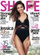 Jessica Alba -                     Shape Magazine October 2016.