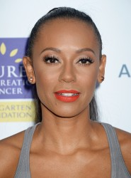 Melanie Brown - 5th Biennial Stand Up To Cancer at Walt Disney Concert Hall in Los Angeles (9/9/16)